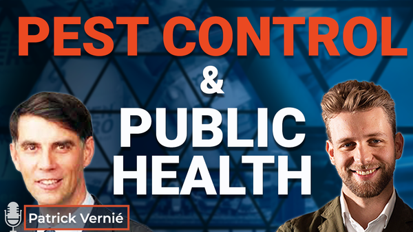 Ep.16 The Importance of Pest Control in Public Health with Patrick Vernié
