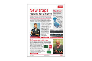 Pestmagazin – New traps looking for a home